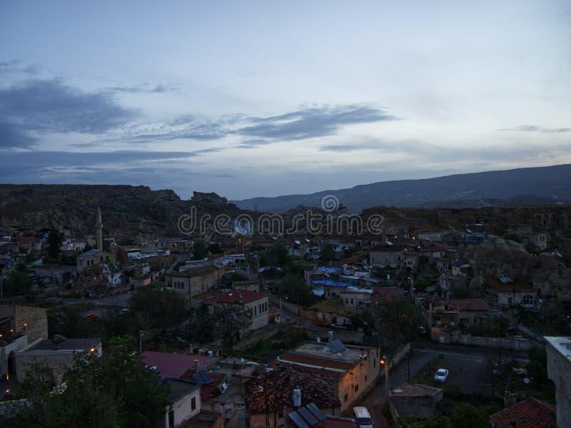Πόλη Urgup στην αυγή στοκ φωτογραφίες με δικαίωμα ελεύθερης χρήσης