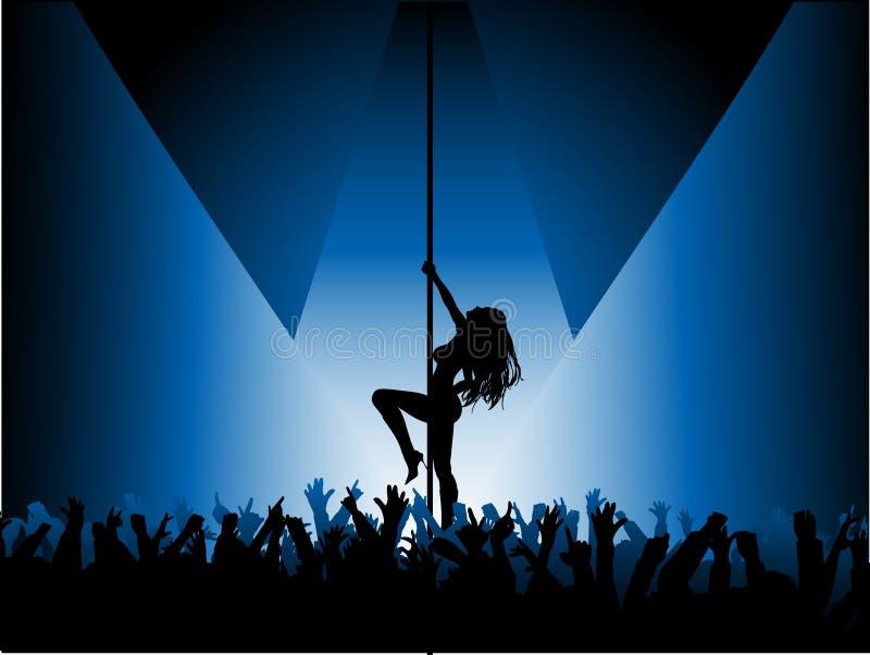 πόλος χορευτών προκλητικός ελεύθερη απεικόνιση δικαιώματος