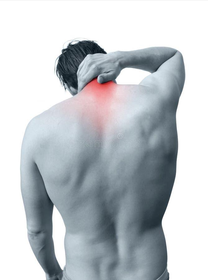 πόνος λαιμών στοκ εικόνα με δικαίωμα ελεύθερης χρήσης