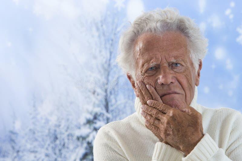 Πόνος δοντιών στοκ εικόνα με δικαίωμα ελεύθερης χρήσης
