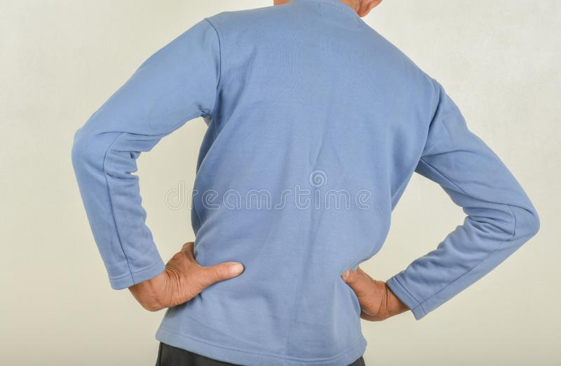 Πόνος στην πλάτη στα άτομα στοκ φωτογραφία με δικαίωμα ελεύθερης χρήσης