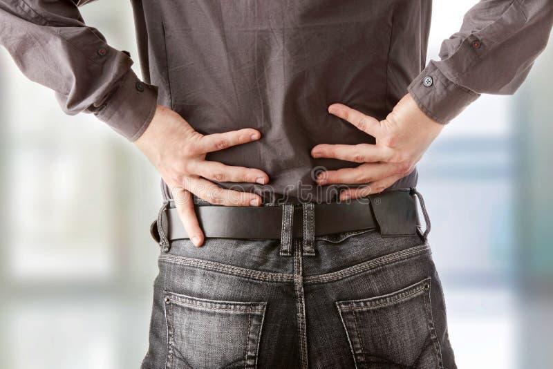 πόνος στην πλάτη στοκ φωτογραφίες με δικαίωμα ελεύθερης χρήσης