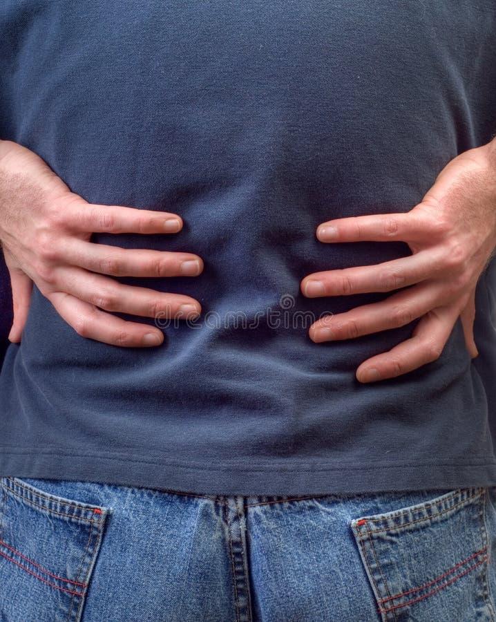 πόνος στην πλάτη στοκ εικόνες