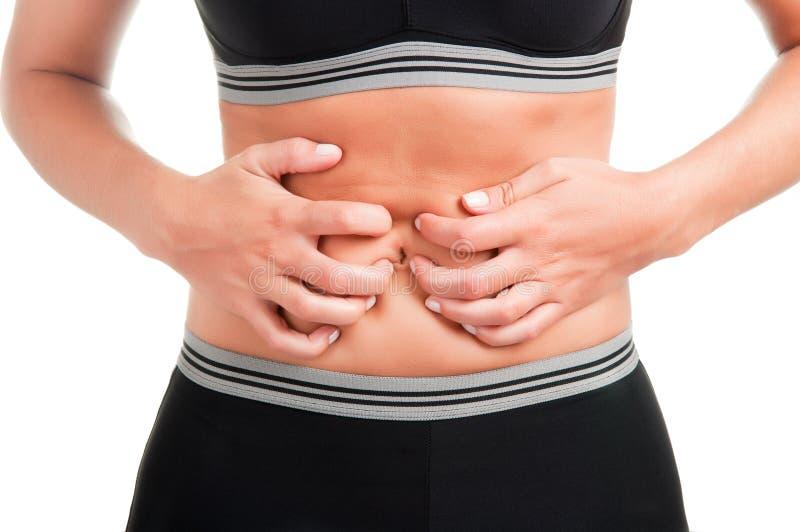 Πόνος στομαχιών στοκ φωτογραφίες με δικαίωμα ελεύθερης χρήσης