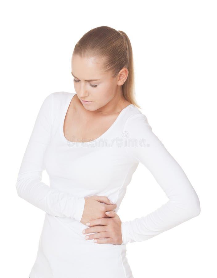 Πόνος στο σώμα στοκ φωτογραφία με δικαίωμα ελεύθερης χρήσης
