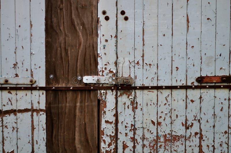 πόρτα αγροτική στοκ εικόνες