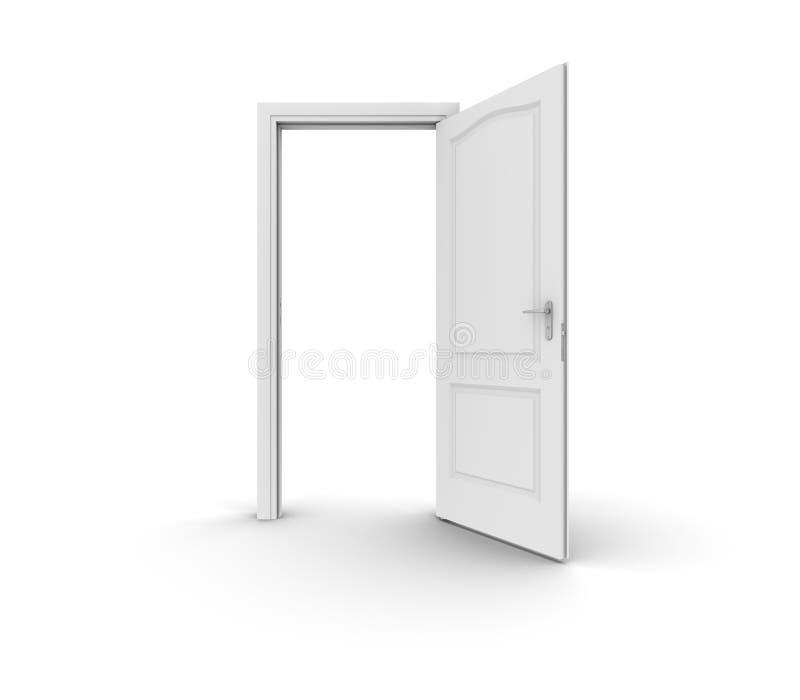 πόρτα ανοικτή ελεύθερη απεικόνιση δικαιώματος