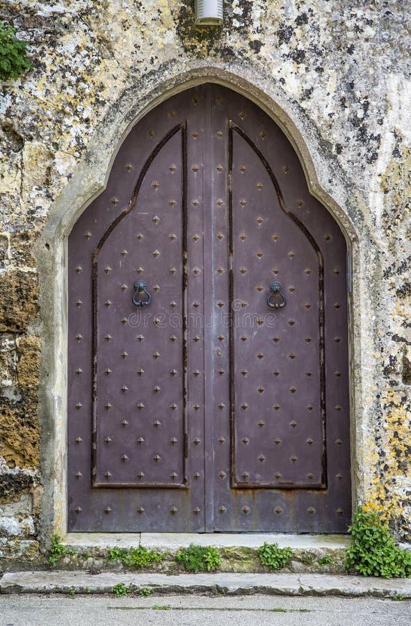 Πόρτα από τη Σικελία στοκ εικόνες
