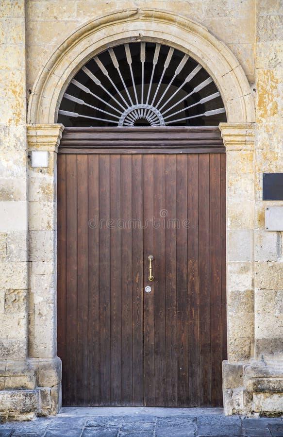 Πόρτα από τη Σικελία στοκ εικόνα