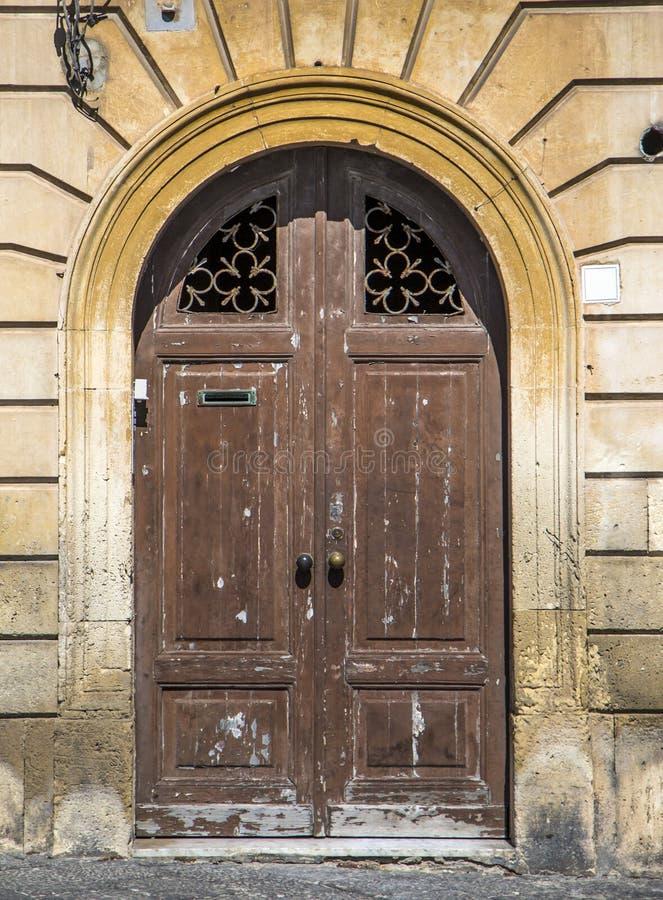 Πόρτα από τη Σικελία στοκ εικόνες με δικαίωμα ελεύθερης χρήσης