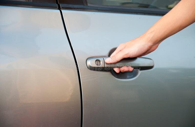 πόρτα αυτοκινήτων ανοικτή στοκ εικόνα με δικαίωμα ελεύθερης χρήσης