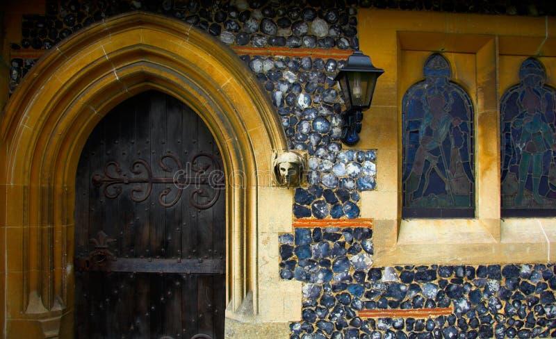 πόρτα εκκλησιών στοκ φωτογραφίες