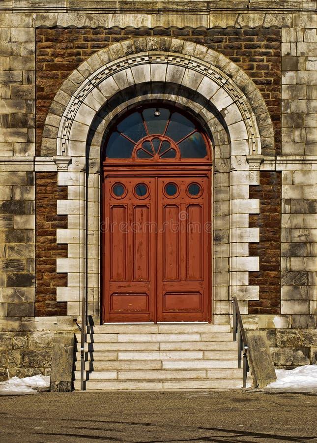 Πόρτα εκκλησιών στοκ εικόνα με δικαίωμα ελεύθερης χρήσης