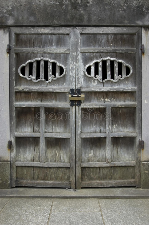 πόρτα ιαπωνικά στοκ φωτογραφίες με δικαίωμα ελεύθερης χρήσης
