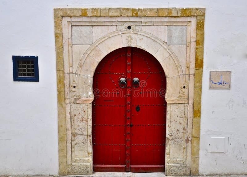 πόρτα κόκκινος ειδικός Τ&upsilo στοκ φωτογραφία με δικαίωμα ελεύθερης χρήσης