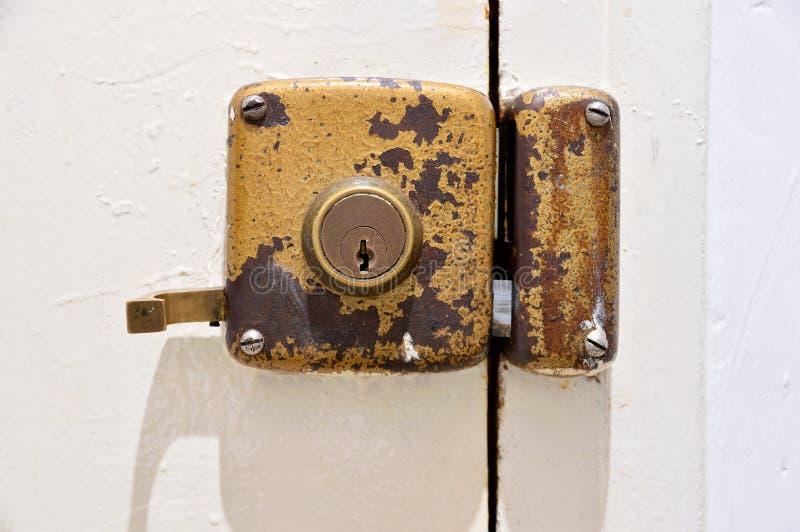 πόρτα λεπτομέρειας παλα&iota στοκ φωτογραφία με δικαίωμα ελεύθερης χρήσης