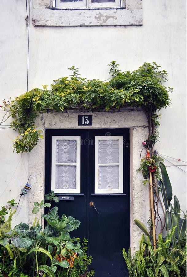 πόρτα Λισσαβώνα στοκ εικόνα με δικαίωμα ελεύθερης χρήσης