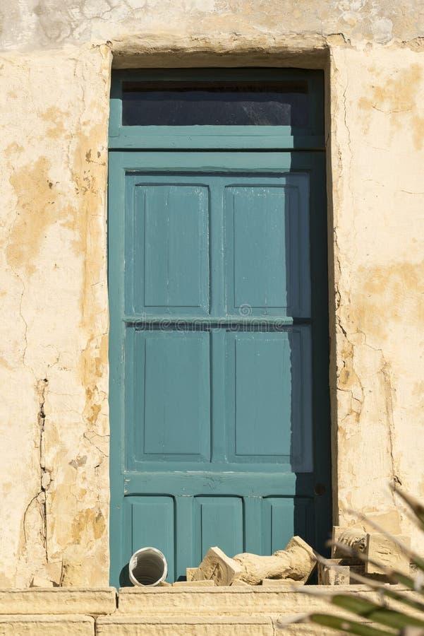 Πόρτα μέσα στην ακρόπολη Βικτώριας Gozo Μάλτα στοκ φωτογραφίες με δικαίωμα ελεύθερης χρήσης