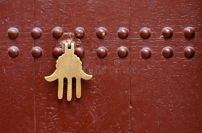 πόρτα Μαροκινός στοκ φωτογραφίες με δικαίωμα ελεύθερης χρήσης