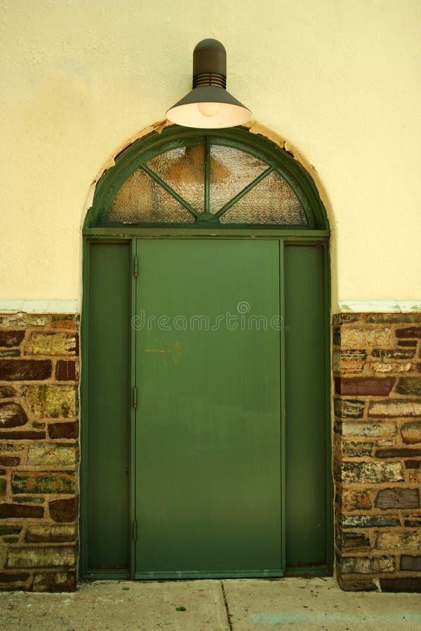 Πόρτα με το φως στοκ εικόνες