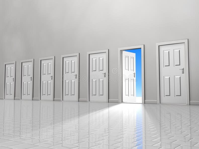 πόρτα μια διανυσματική απεικόνιση