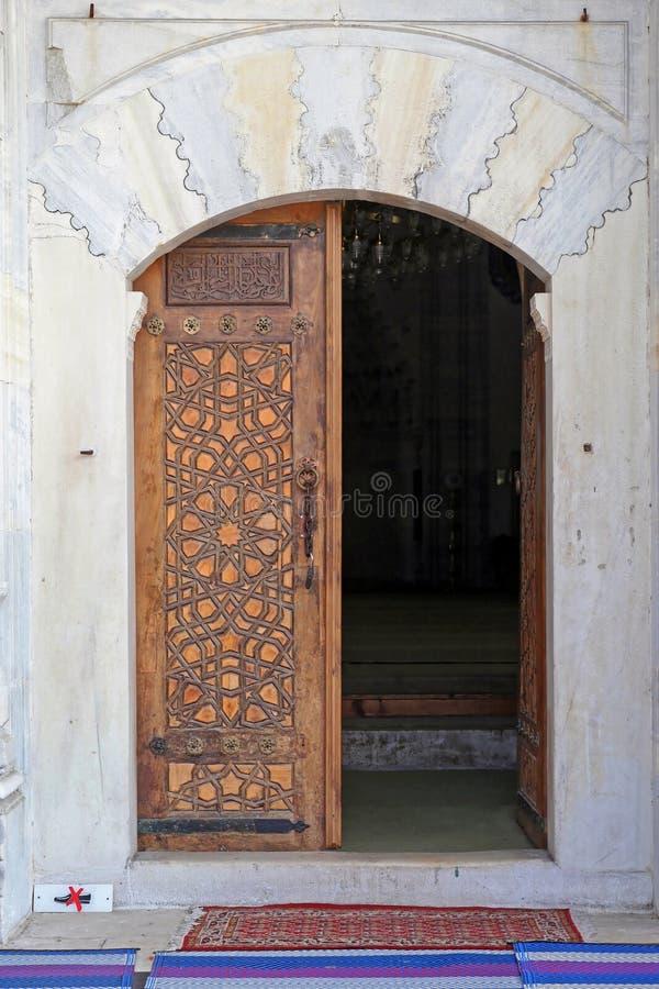 Πόρτα μουσουλμανικών τεμενών στοκ εικόνες