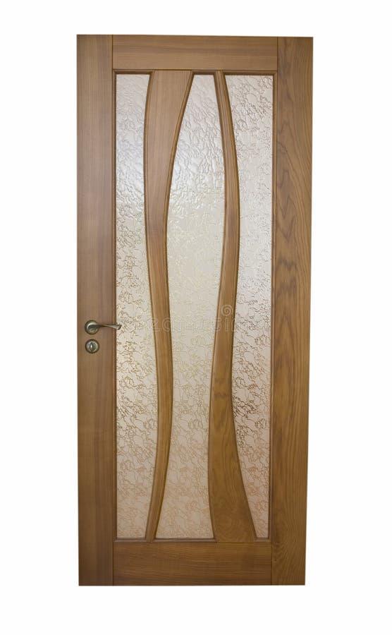 Download πόρτα ξύλινη στοκ εικόνα. εικόνα από κατασκευή, σανίδα - 13184523