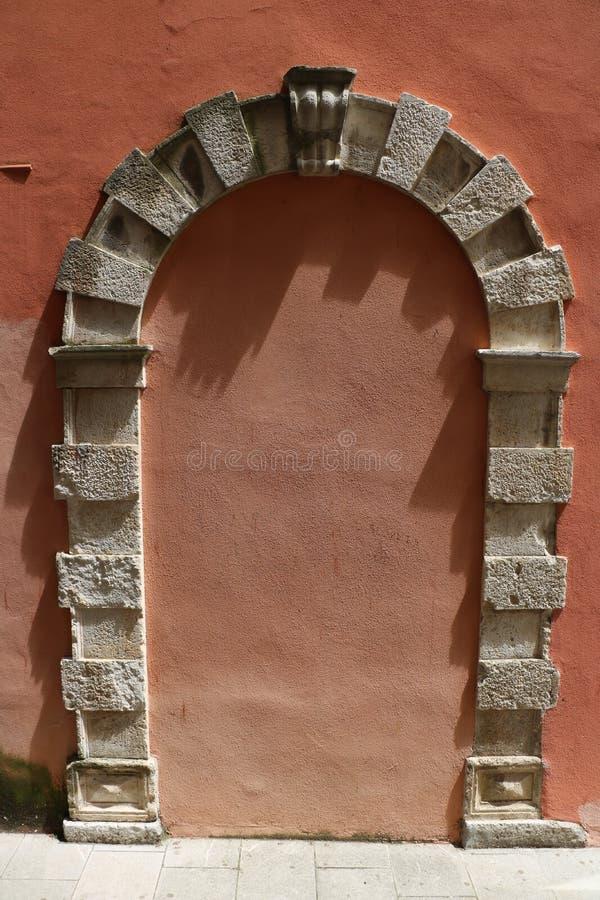 Πόρτα που χάνεται στοκ εικόνα