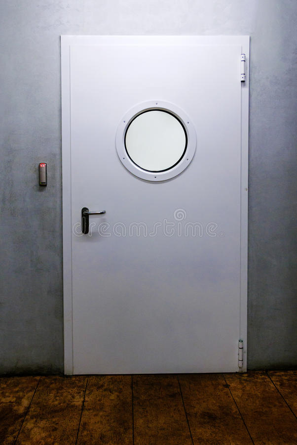 Πόρτα σκαφών με την παραφωτίδα στοκ φωτογραφίες με δικαίωμα ελεύθερης χρήσης