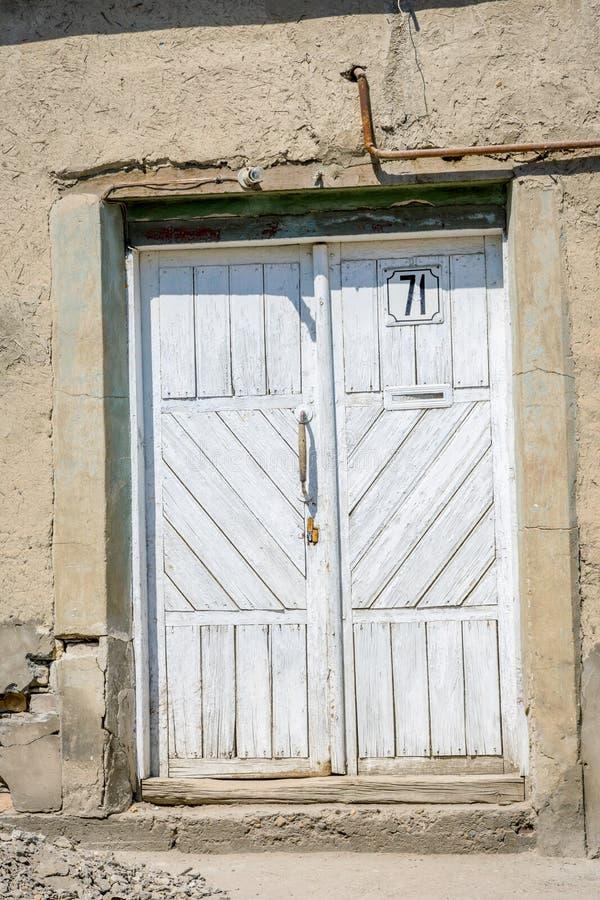Πόρτα στο ναυπηγείο, Μπουχάρα, Ουζμπεκιστάν στοκ εικόνες