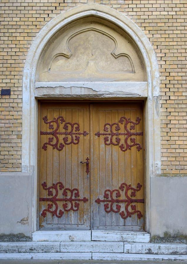 Πόρτα στο Ρωμαίο - καθολική εκκλησία της αμόλυντης Virgin Mary στοκ εικόνες