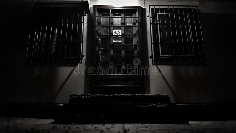Πόρτα της κόλασης στοκ εικόνα