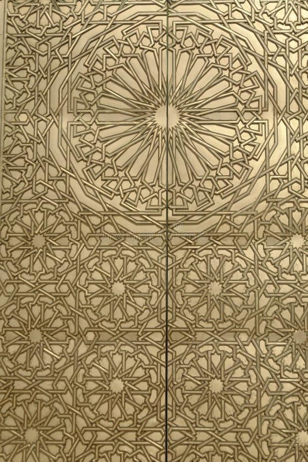 πόρτα χρυσή στοκ φωτογραφία