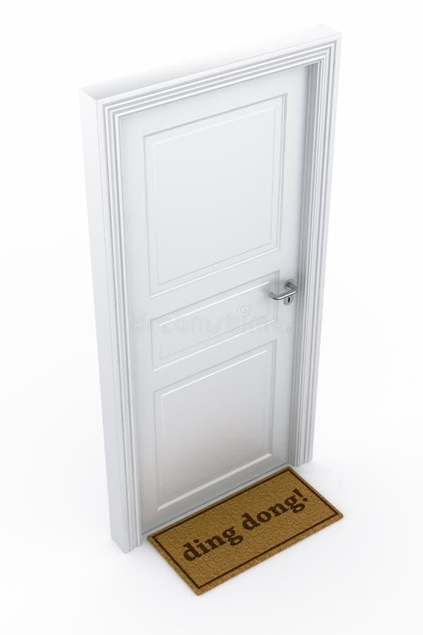πόρτα διανυσματική απεικόνιση