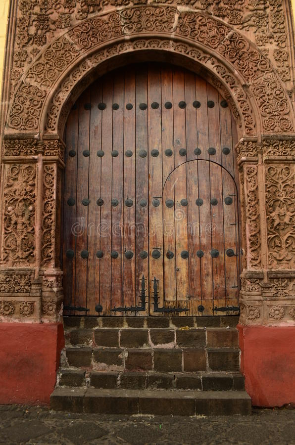 Πόρτα Huatapera που βρίσκεται σε Uruapan στοκ φωτογραφία με δικαίωμα ελεύθερης χρήσης