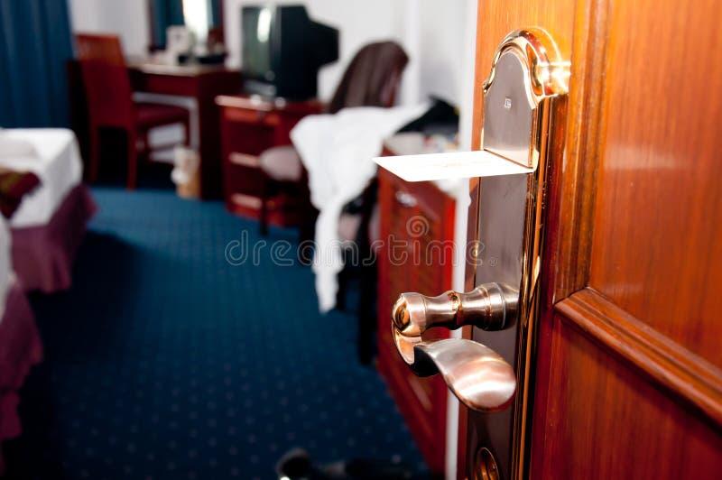πόρτα keycard στοκ φωτογραφία