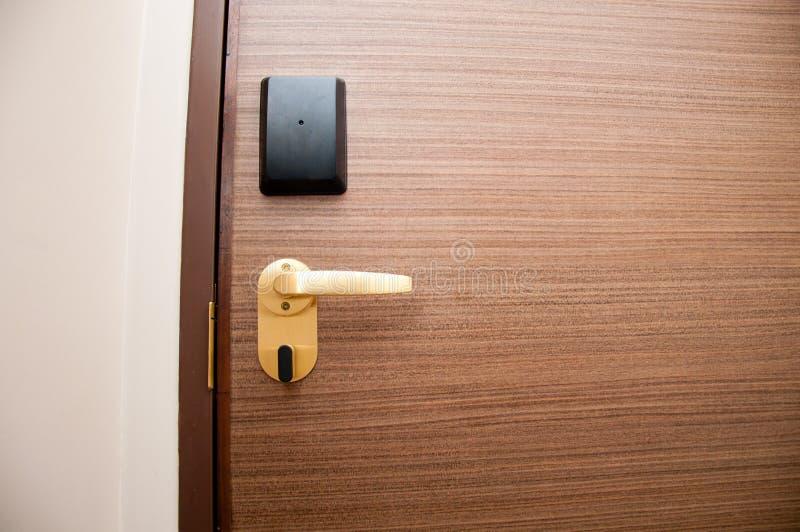 Πόρτα Keycard στοκ εικόνες