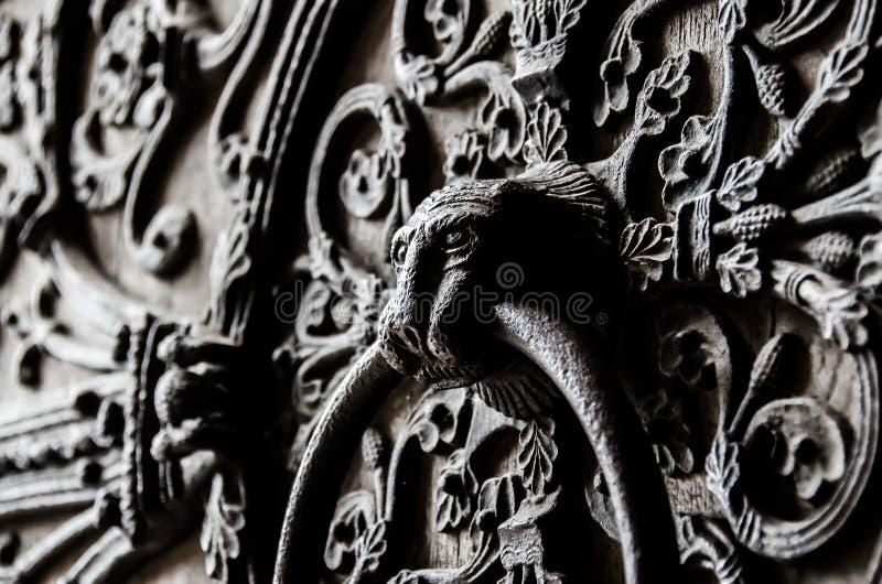 Πόρτα Notre Dame στοκ εικόνες με δικαίωμα ελεύθερης χρήσης