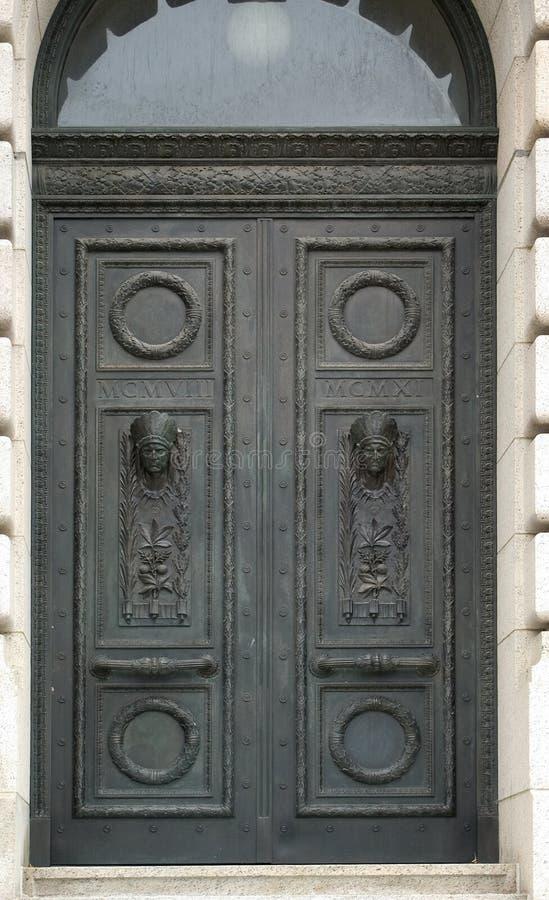 πόρτες επικεφαλής Ινδός Στοκ φωτογραφίες με δικαίωμα ελεύθερης χρήσης
