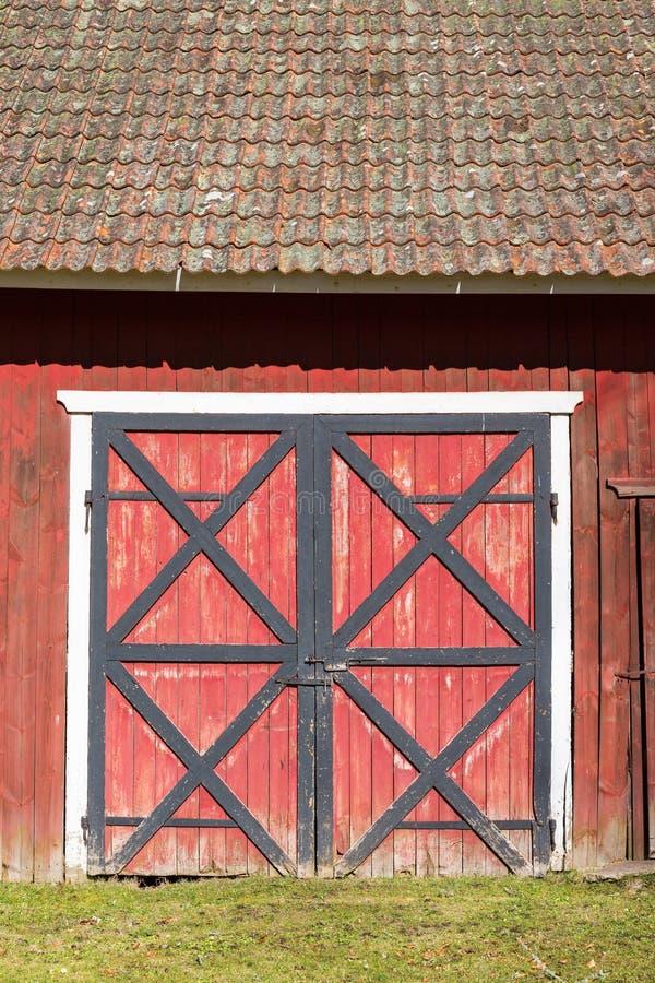 Πόρτες σιταποθηκών στοκ φωτογραφία