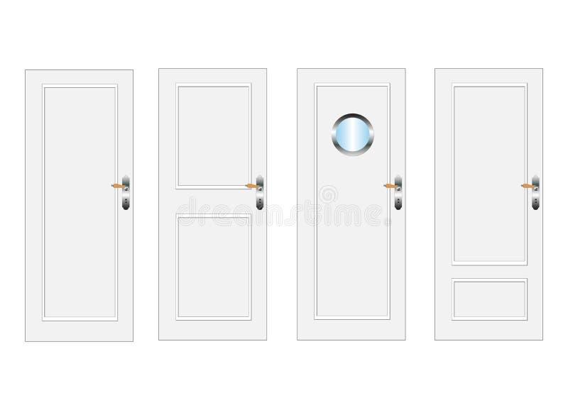 Download πόρτες διανυσματική απεικόνιση. εικονογραφία από εξασφαλίστε - 13186747