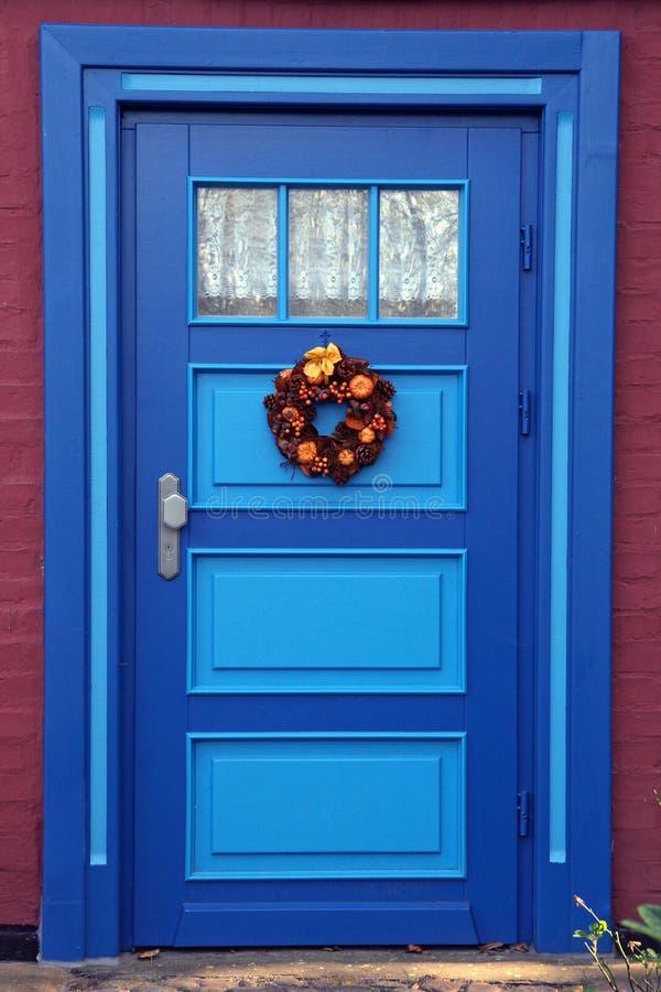 πόρτες fischland στοκ φωτογραφία
