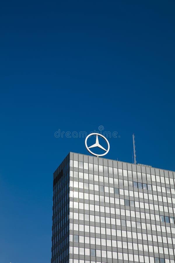 Πότσνταμ, Βερολίνο, Ευρώπη: Στις 20 Αυγούστου 2018: Benz της Mercedes signz στοκ εικόνες