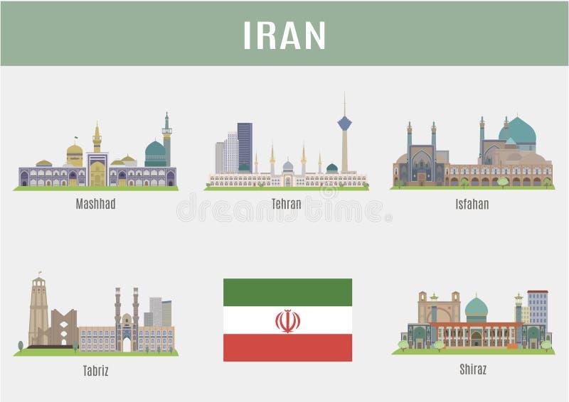 Πόλεις στο Ιράν ελεύθερη απεικόνιση δικαιώματος