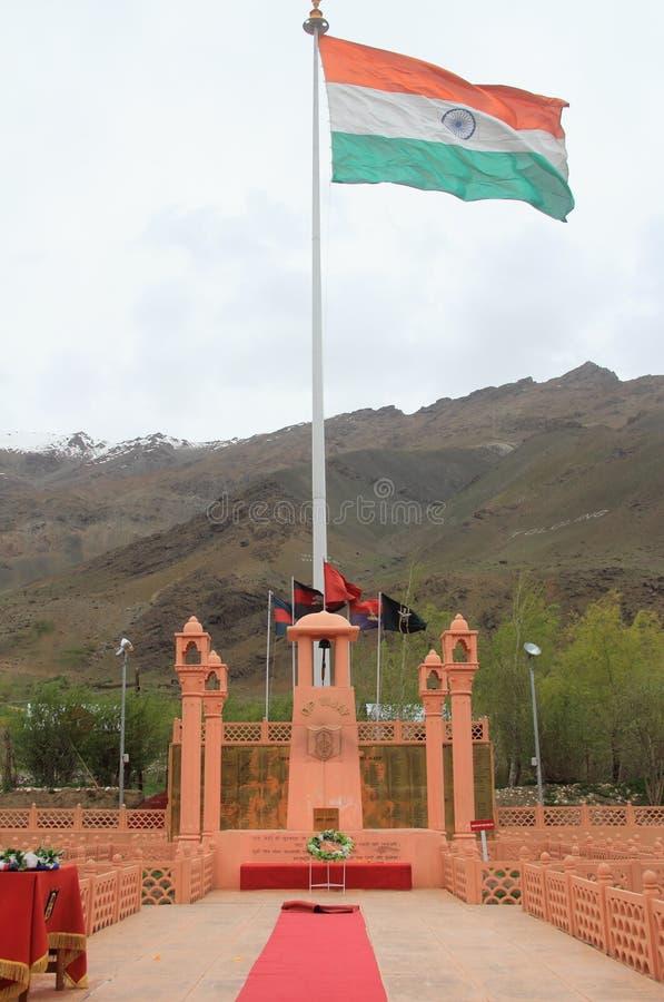 Πόλεμος αναμνηστικός-4 Kargil στοκ εικόνα