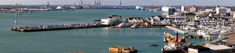 Πόλης αποβάθρα, Southampton, Αγγλία στοκ εικόνες