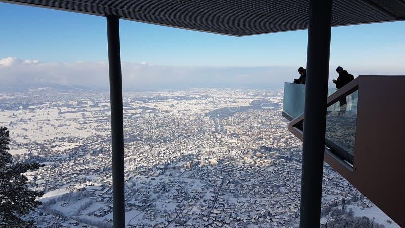 Πόλη από την κορυφή στοκ φωτογραφία με δικαίωμα ελεύθερης χρήσης