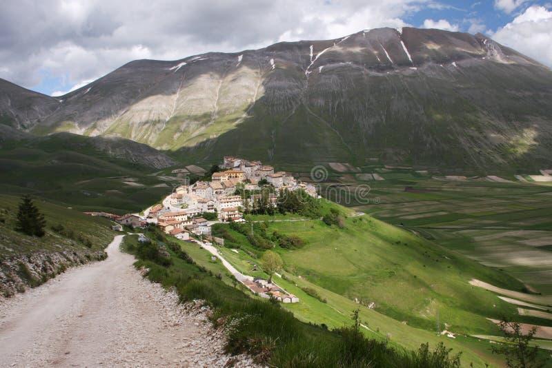 Πόλη βουνών στοκ φωτογραφίες