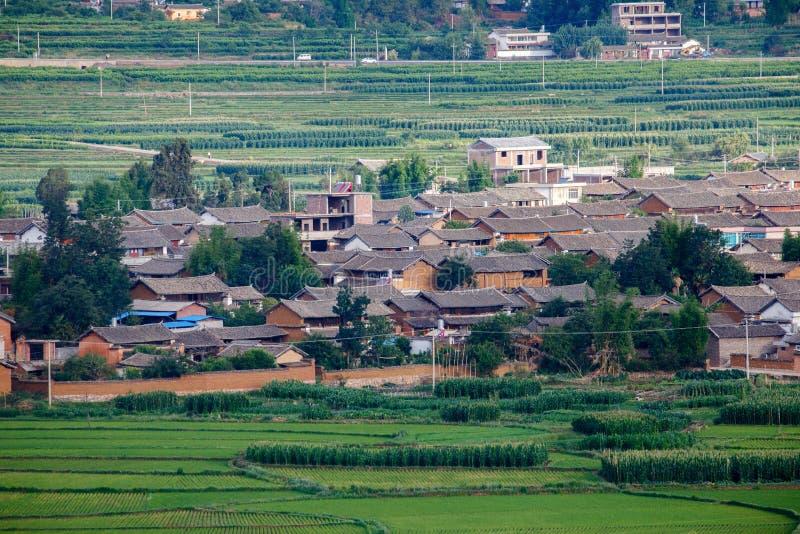 πόλη επαρχίας του Δαλιού Yunnan Κίνα στοκ φωτογραφία