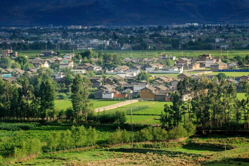 πόλη επαρχίας του Δαλιού Yunnan Κίνα στοκ εικόνα με δικαίωμα ελεύθερης χρήσης